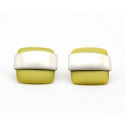 Lime Pearl Moda Earrings