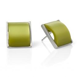 Lime Pearl Pico Earrings