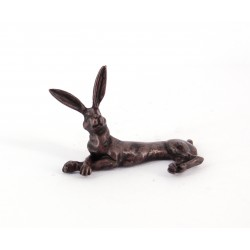 Bonsai hare lying