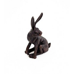 Bonsai hare sitting