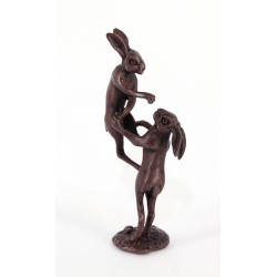 Bonsai boxing hares