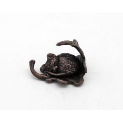 Bonsai sleeping mouse on a...