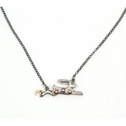 Magical hare necklace