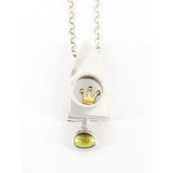 Princess and P pendant