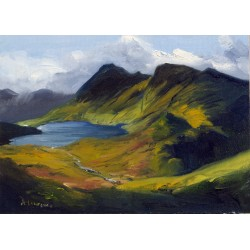 Stickle Tarn, Langdale Pikes