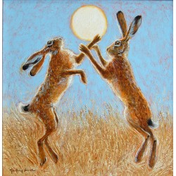 Boxing Hares, Harvest Moon